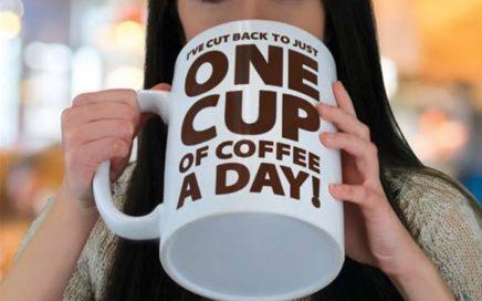 ogromny kubek na kawę