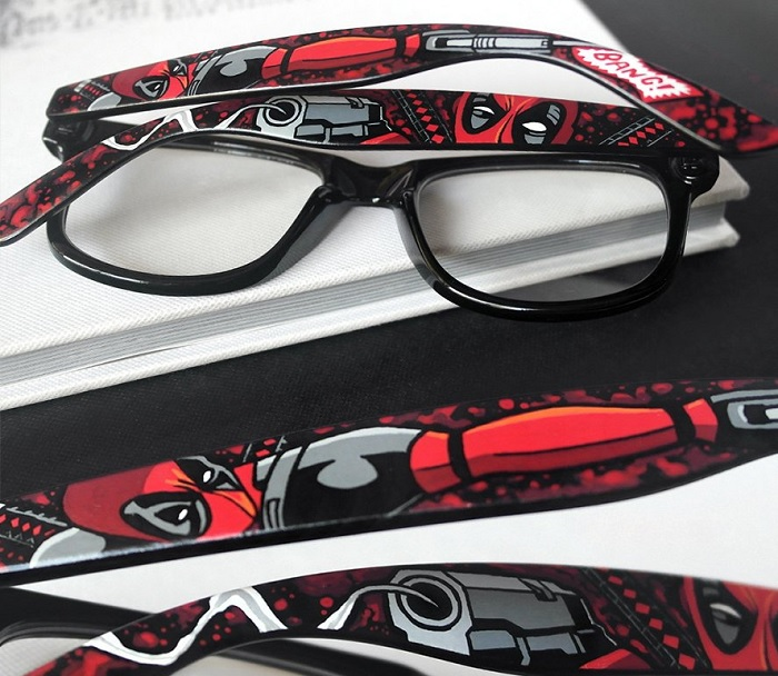 okulary deadpool