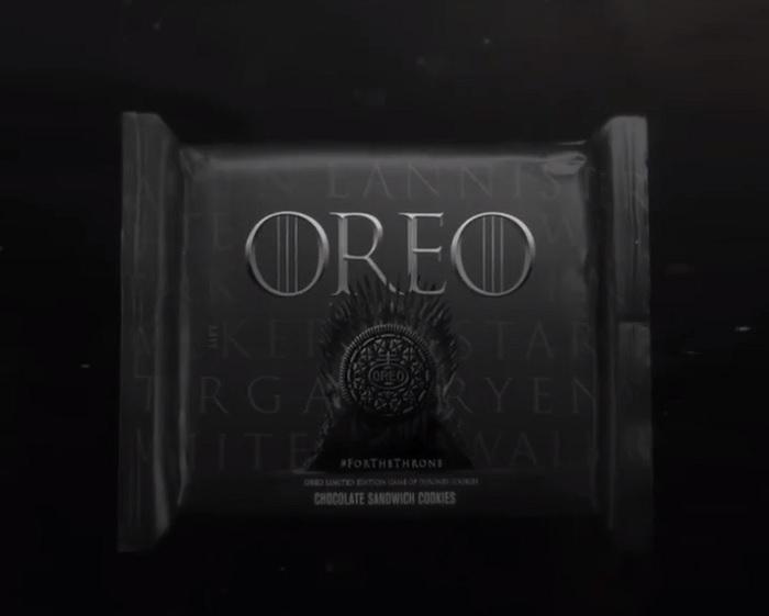 Limitowana edycja ciasteczek Oreo z motywem Gry o Tron
