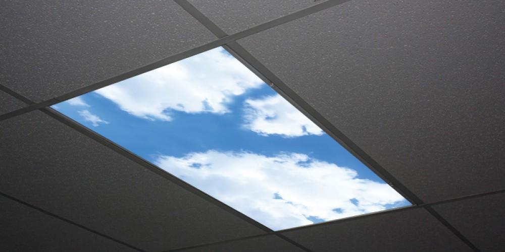 Panel sufitowy ze słonecznym niebem Skypanels
