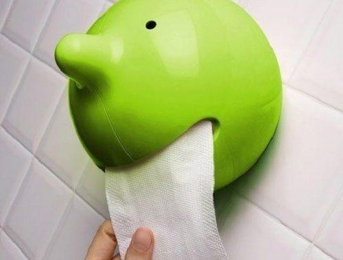 uchwyt na papier toaletowy glowa