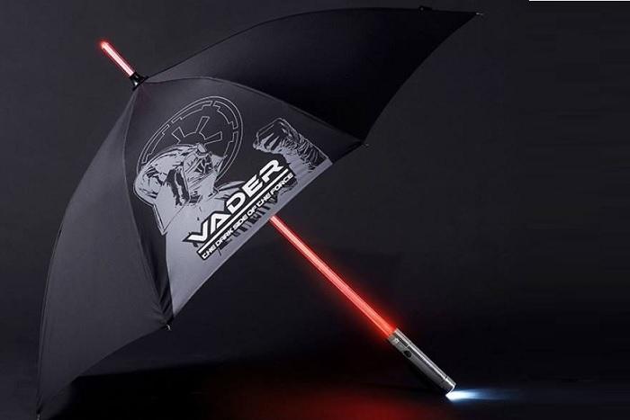 Parasol miecz świetlny - Star Wars