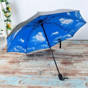 parasol z niebem