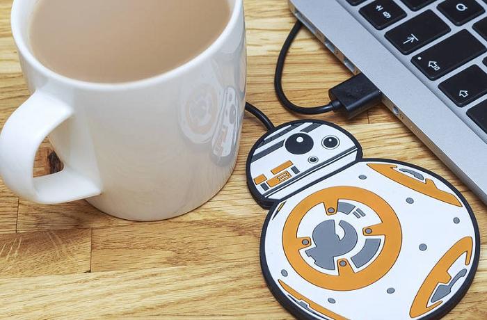 Podgrzewacz do kubków USB Star Wars