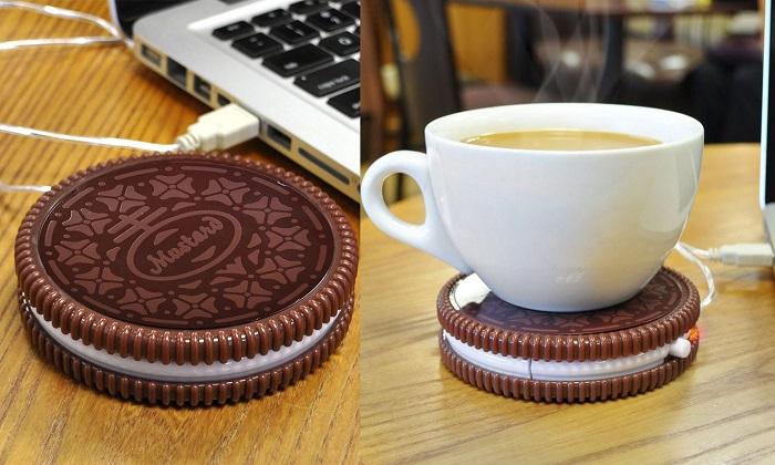 Biurowy podgrzewacz do napojów ciastko