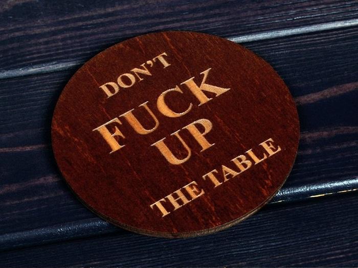 podkladka nie zniszcz stolu