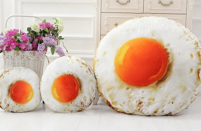 poduszka jajko sadzone