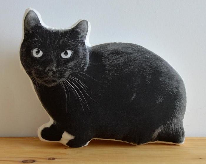 poduszka realistyczny kot 2