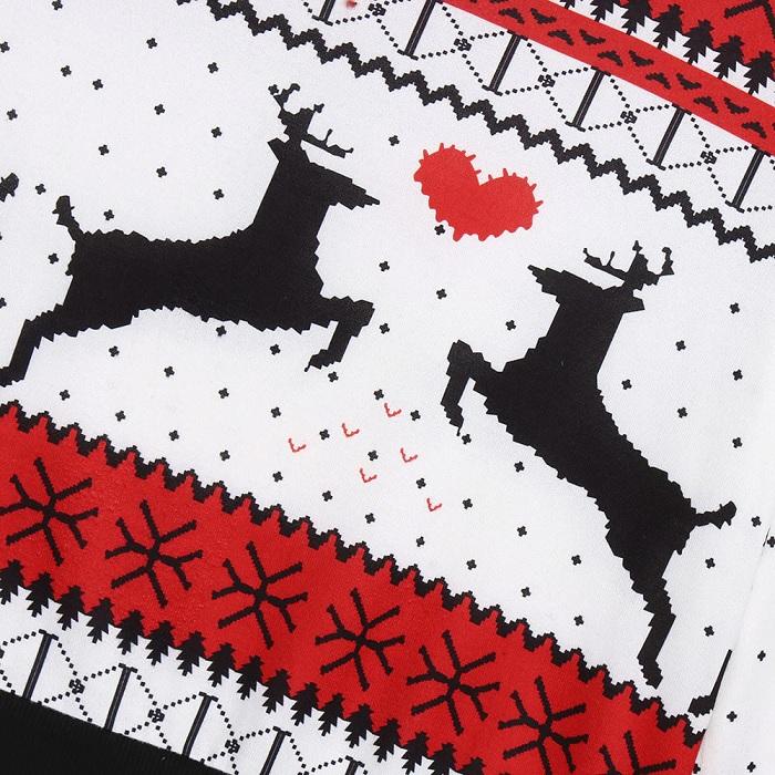 podwojny sweter dla pary