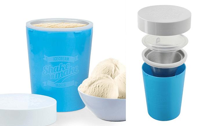 Shaker do domowych lodów Shake 'n' Make firmy Mustard