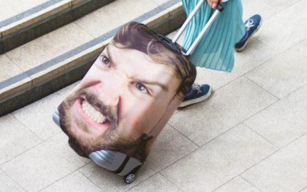 pokrowiec na walizke zdjecie