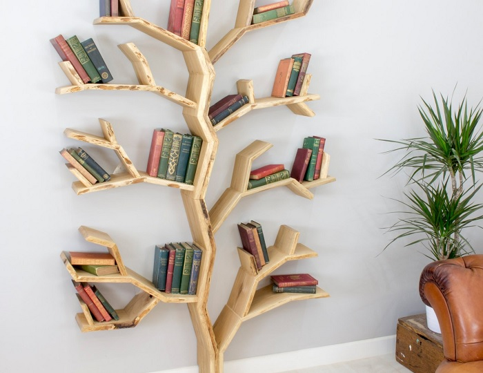 regal drzewo 6