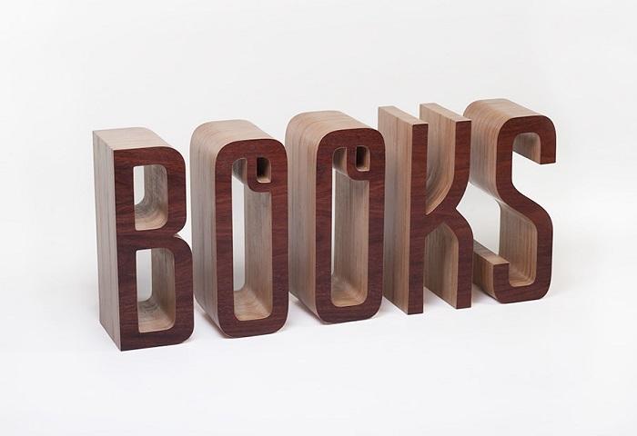 polka na ksiazki napis books 2