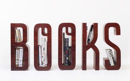 polka na ksiazki napis books