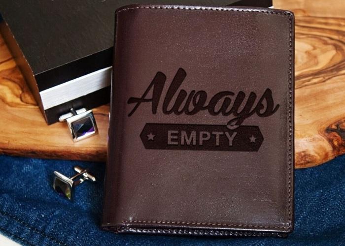 portfel always empty