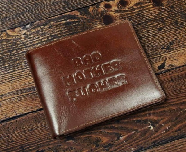 Skórzany portfel jak z Pulp Fiction