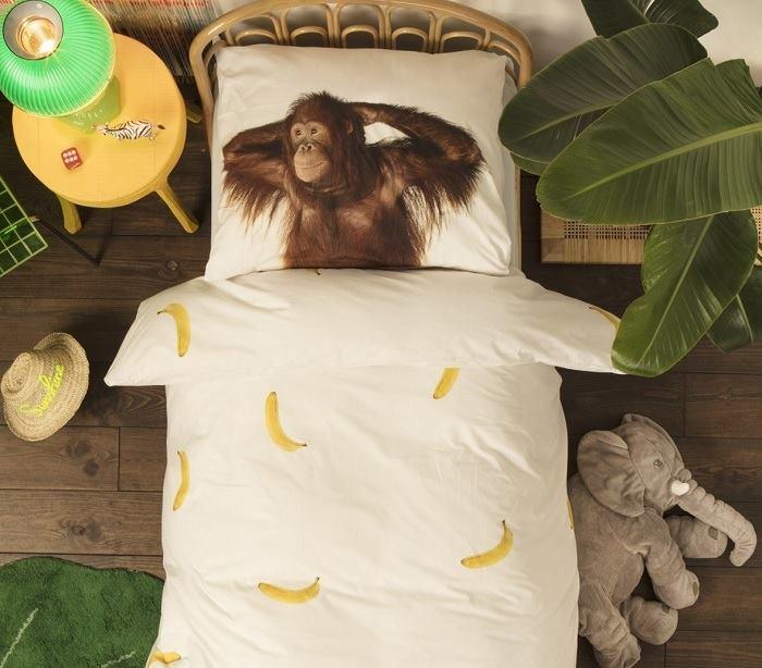 Pościel z orangutanem marki Snurk