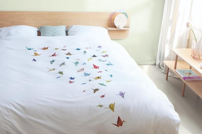 posciel ptaki origami 2