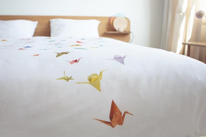 Pościel ptaki origami by Snurk