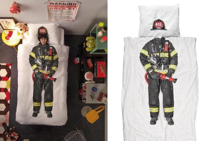 Pościel strażak SNURK