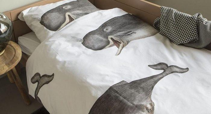 posciel w wieloryby snurk