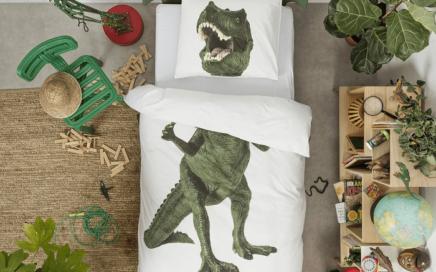 posciel z dinozaurem snurk-min