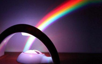 projektor tęczy