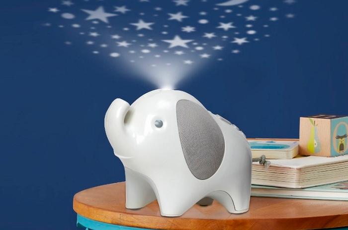 Projektor gwiazd z pozytywką słoń Skip Hop