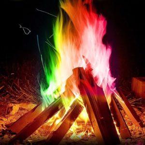 proszek do tęczowego ogniska