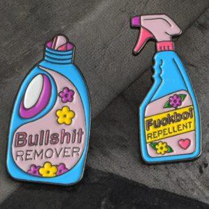 przypinka bullshit remover