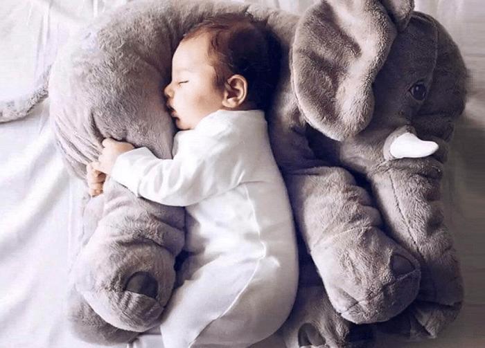 Pluszak poduszka słoń