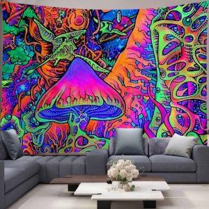 psychodeliczna dekoracja