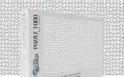 puzzle biale 1000