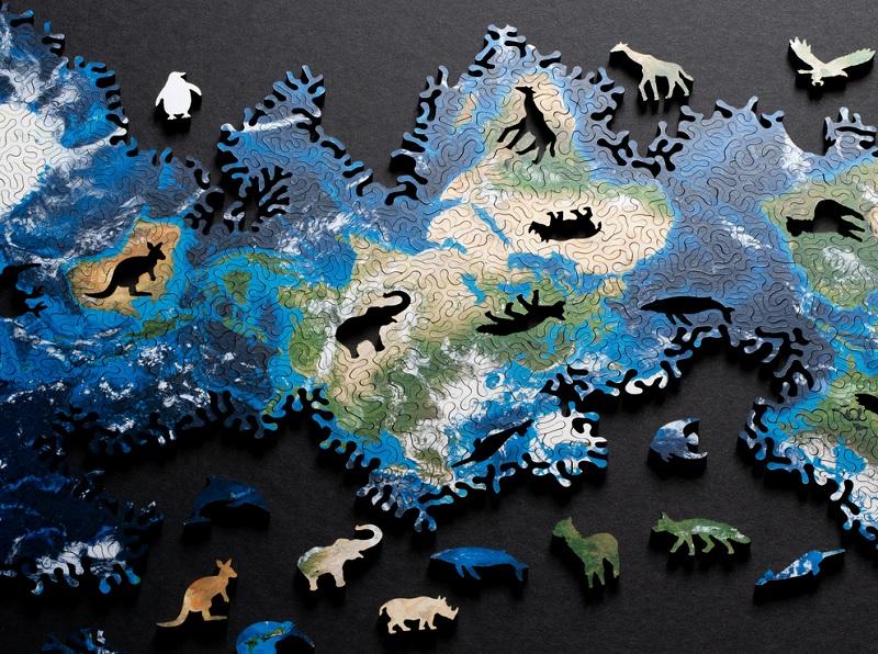 Niezwykłe puzzle by Nervous System, których nie zaczniesz od układania ramki
