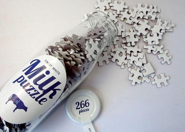 Trudne puzzle rozlane mleko