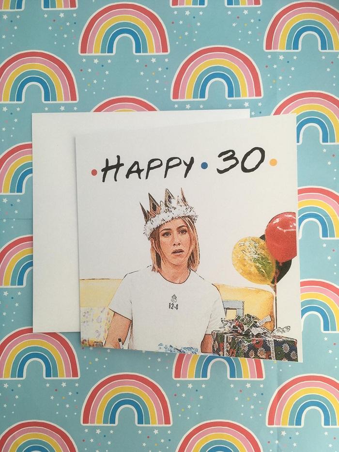 rachel green kartka urodzinowa