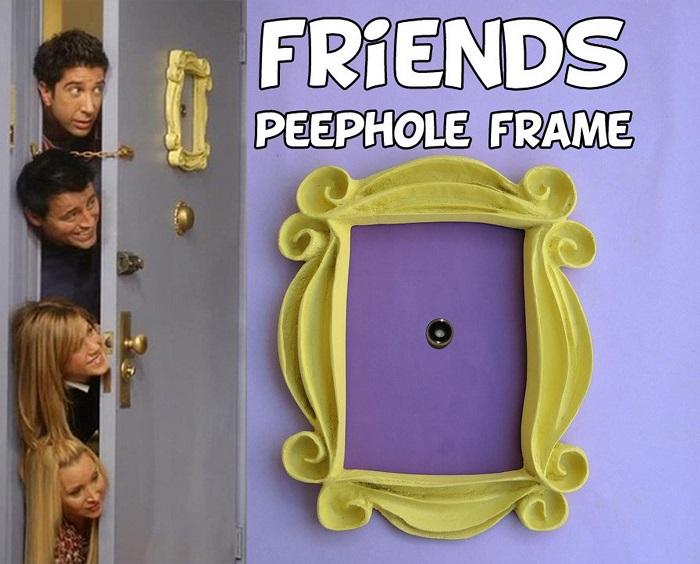 ramka na drzwi przyjaciele