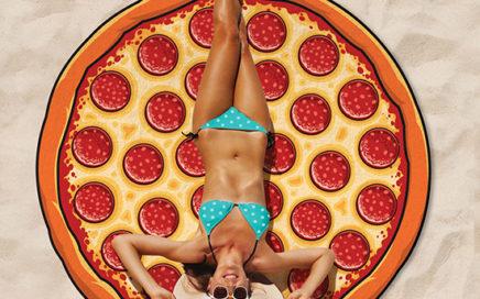 recznik plazowy pizza