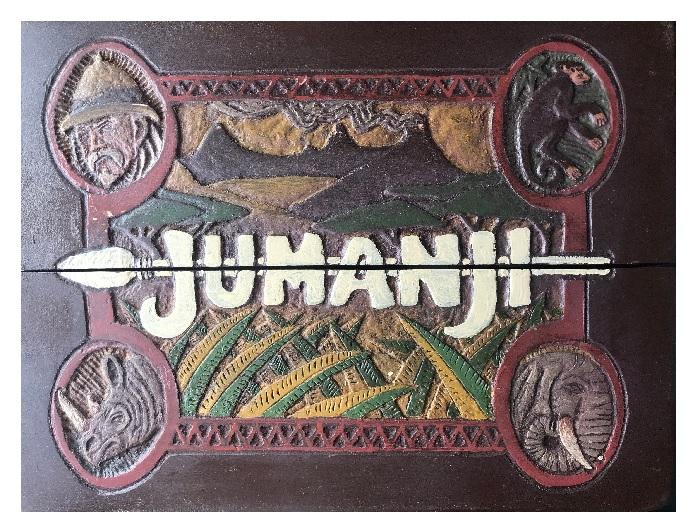 Ręcznie wykonana replika gry Jumanji