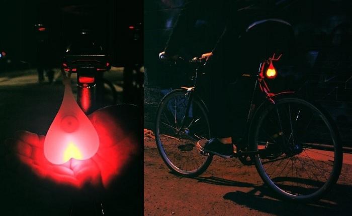 Lampka rowerowe jaja