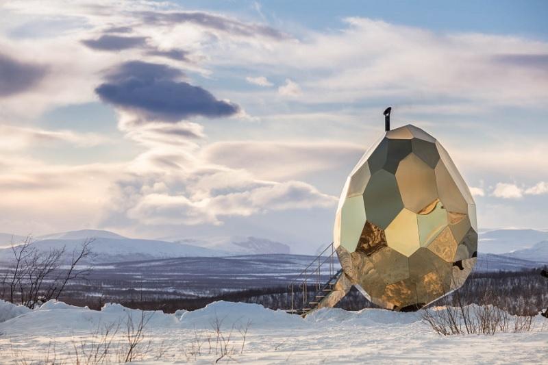sauna złote jajo