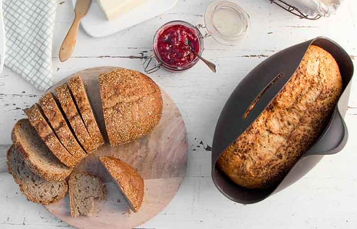 silikonowe naczynie do pieczenia chleba