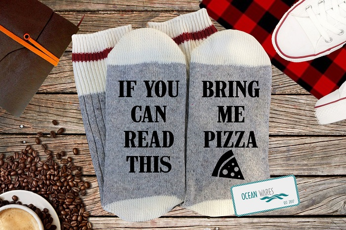 skarpetki bring me pizzaa
