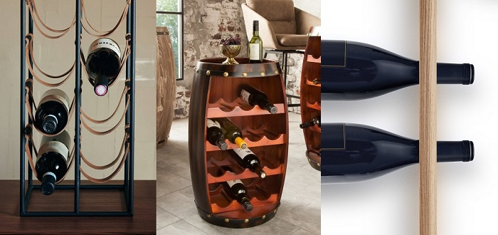 Przechowywanie wina w dobrym stylu, czyli 10+ eleganckich stojaków na butelki