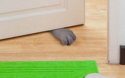 stoper do drzwi kocia łapka