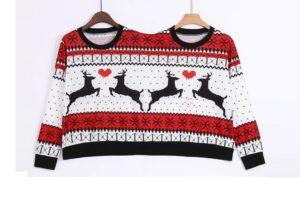 Jeden sweter dla dwóch osób