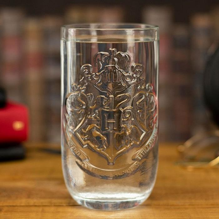 szklanka hogwart herb
