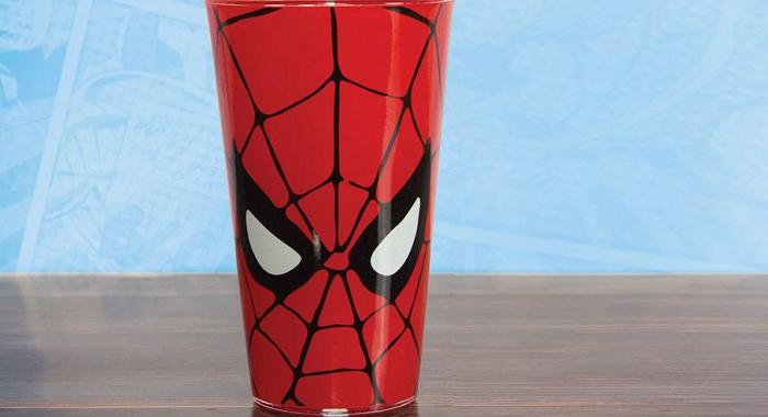 szklanka spiderman