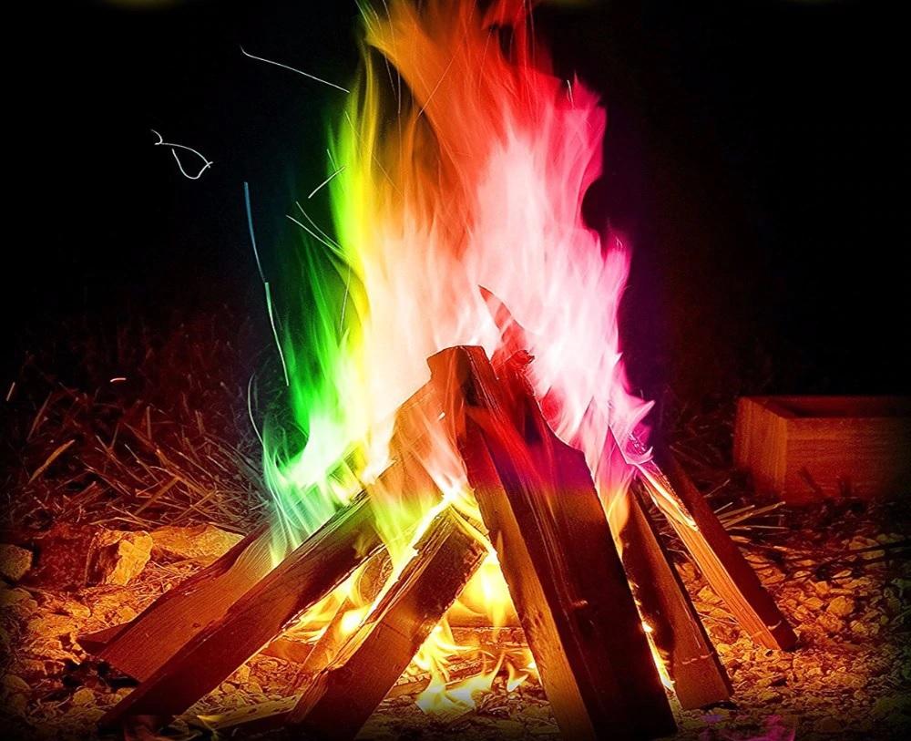 teczowe ognisko