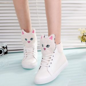 tenisówki z kotami